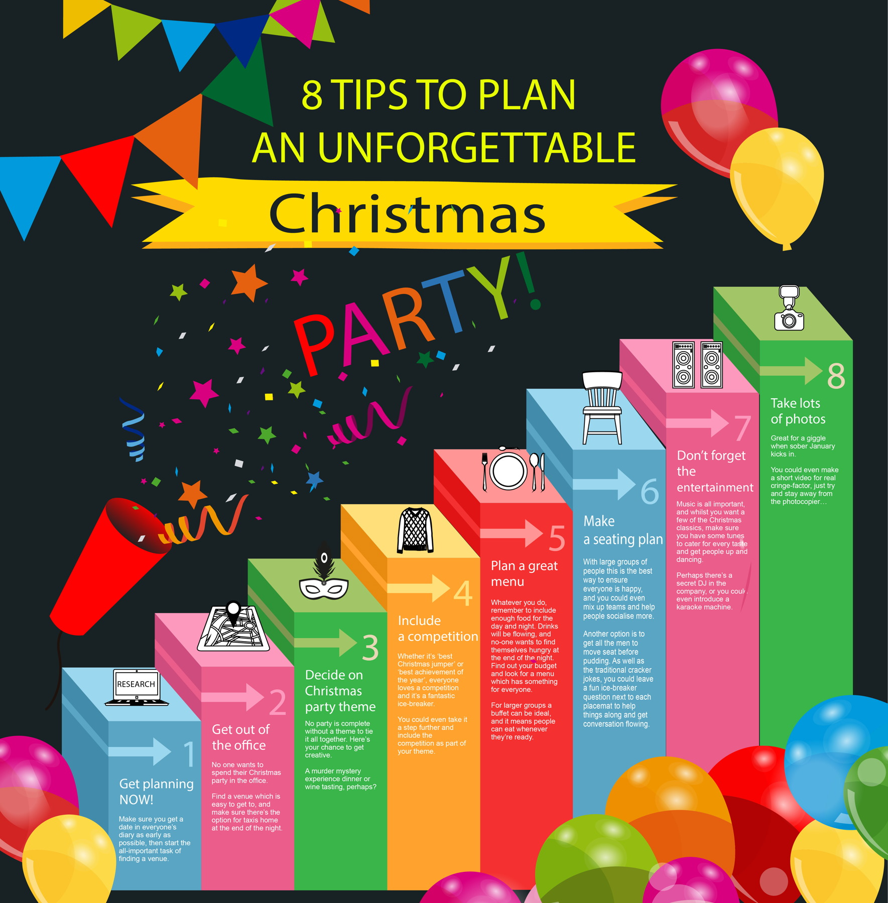 Christmas Party Planning.How To Plan An Office Christmas Party In 8 Steps
