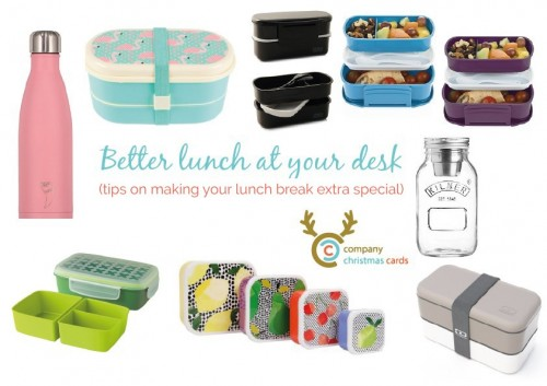 desk lunch containers